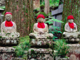 Statues in Koya-San's Oku-No-In Cemetery Photographic Print by Rachel Lewis