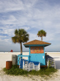 Beach Chair Rental Shack Photographic Print by Thomas Winz