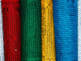 The Colours Prayer Flags Hold Great Significance Photographic Print by Bradley Mayhew
