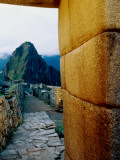 Huayna Picchu from Ruins Photographic Print by Ryan Fox