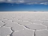 Hexagonal Shapes on Salt Flat Photographic Print by Alfredo Maiquez