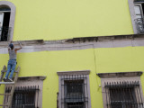 Painter Restoring Building Photographic Print by Sabrina Dalbesio