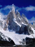 Cerro Torre (3102M) from Laguna Torre Photographic Print by Richard l&#39;Anson