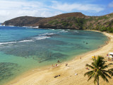 Hanauma Bay Nature Preserve Photographic Print by Ann Cecil