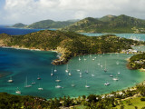 Overview of English Harbour from Shirley Heights Photographic Print by Veronica Garbutt