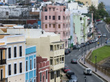 Colourful Houses Along Calle Norzagaray, Old San Juan Photographic Print by Rachel Lewis
