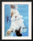 AT&T USA Diving Grand Prix, Fort Lauderdale, Florida Framed Photographic Print by J. Pat Carter