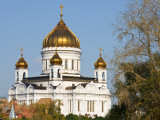 Gold-Domed Cathedral of Christ the Saviour Photographic Print by Tim Makins
