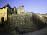 Fortified Castle Walls of Beynac Fotografie-Druck von Barbara Van Zanten
