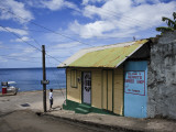 Gerrit's Barber Shop on Waterfront Photographic Print by Angus Oborn