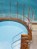Pool on Cruise Ship Deck Photographic Print by Richard Cummins