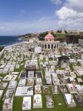 Cementerio De San Juan (San Juan Cemetery) Photographic Print by Rachel Lewis