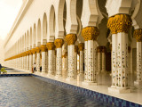 Exterior of Sheikh Zayed Bin Sultan Al Nahyan Mosque (Also known as Sheikh Zayed Grand Mosque) Photographic Print by Rogers Gaess