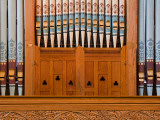 Organ in Christchurch Cathedral Fotografie-Druck von Richard Cummins