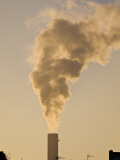 Smoke Billowing from Industrial Chimney Photographic Print by Richard l'Anson