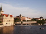 Vitava River from Charles Bridge Photographic Print by Roberto Gerometta