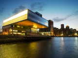 Institute of Contemporary Art in Evening Light Photographic Print by Lou Jones