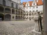 Courtyard of the Castle Photographic Print by Aldo Pavan