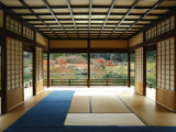 Interior of Tea House at Ritsurin Park Photographic Print by Seong Joon Cho