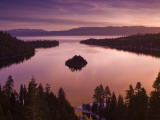 Winter Sunrise at Emerald Bay, Lake Tahoe Fotodruck von Witold Skrypczak