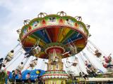 Jinjiang Amusement Park Chair Ride Photographic Print by Zhang Yi