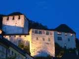 Feldkirch Castle at Twilight Photographic Print by Richard Nebesky