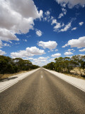 Mallee Highway Near Ouyen Photographic Print by Oliver Strewe
