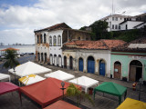 Old Buildings and Anil River from Casa Do Maranhao Museum Photographic Print by Viviane Ponti