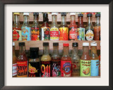These are Sample Bottles of Hot Sauce Sold by Kaufman's Fancy Fruit and Vegetables Framed Photographic Print by John Gillis