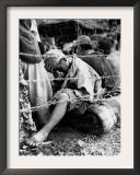 A Japanese Prisoner of War Framed Photographic Print