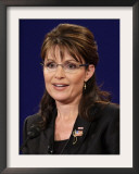 Sarah Palin, Vice Presidential Debate 2008, Oxford, MS Framed Photographic Print