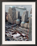 New Navy Assault Ship USS New York, Built with World Trade Center Steel Framed Photographic Print
