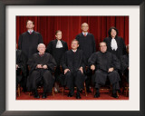 With the Addition of Justice Sonia Sotomayor, The High Court Sits for a New Group Photograph Framed Photographic Print