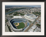 Old New York Yankees Stadium next to New Ballpark, New York, NY Framed Photographic Print