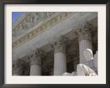 Supreme Court in Washington Framed Photographic Print