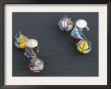 Vendors Carry their Wares in Ho Chi Minh City, Vietnam Framed Photographic Print