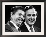 U.S. President-Elect Ronald Reagan Framed Photographic Print
