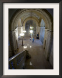 Lobby of the Cleveland Public Library's Main Branch Framed Photographic Print by Jamie-andrea Yanak