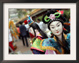 Chinese Deity Puppets Framed Photographic Print