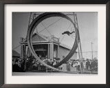 Loop The Loop, New York, New York Framed Photographic Print by Charles Kenneth Lucas
