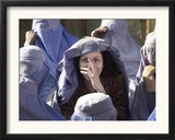 An Afghan Widow Framed Photographic Print