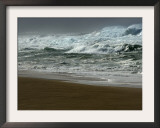 High Winds, Sunset Beach, Hawaii Framed Photographic Print by Lucy Pemoni