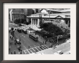 New York Public Library Framed Photographic Print