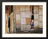 An Ethnic Karen Boy Framed Photographic Print