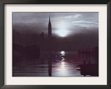 Empire State Building at Sunrise, New York, New York Framed Photographic Print by Peter J. Eckel