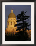 Maine State House, Augusta, Maine Framed Photographic Print by Robert F. Bukaty
