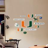 Miami - Fathead Junior Logosheet Wallstickers