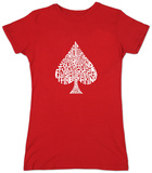 Juniors: Spade 'Poker Hands' Shirt
