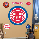 Detroit Pistons Classic Logo Wall Decal