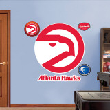 Atlanta Hawks Classic Logo Wall Decal